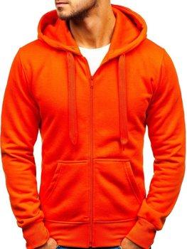 Oranžová pánska mikina s kapucňou BOLF AK50A 7f0b0bc80a4