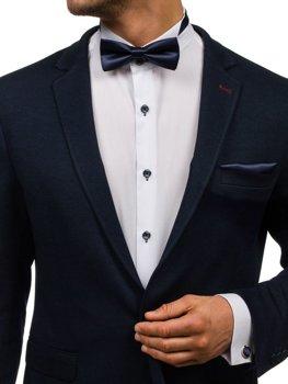 Atramentová pánska sada: kravata, manžety, kapesník BOLF MSP01