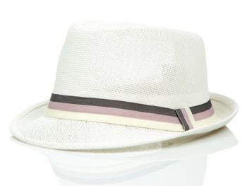 Biely pánsky klobúk BOLF KAP214