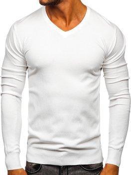 Biely pánsky sveter s Včkom Bolf YY03