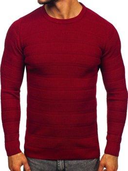 Bordový pánsky sveter Bolf 4357
