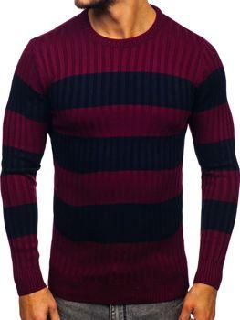 Bordový pánsky sveter Bolf 4516