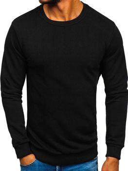 Čierna pánska mikina bez kapucne BOLF 171715