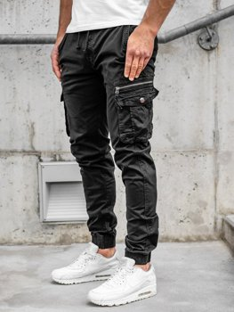 Čierne pánske kapsáčové joggery Bolf CT6702S0