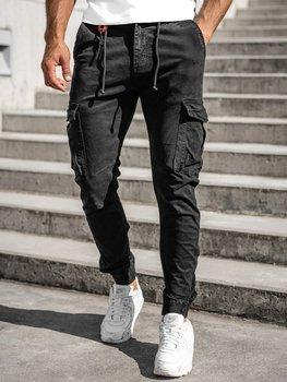 Čierne pánske kapsáčové joggery Bolf CT6705