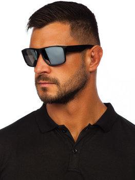 Čierno-strieborné slnečné okuliare Bolf PLS4