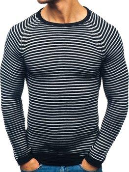 Čierny pánsky sveter BOLF 152