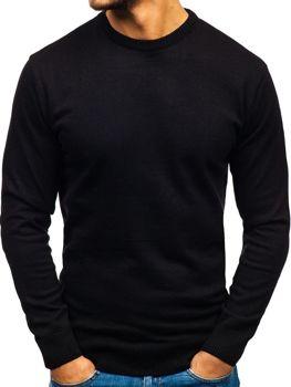 Čierny pánsky sveter BOLF 6001 be9180924fc