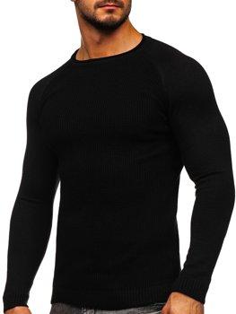 Čierny pánsky sveter Bolf 1009
