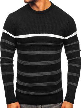 Čierny pánsky sveter Bolf 1951