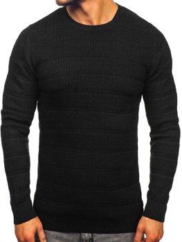 Čierny pánsky sveter Bolf 4357