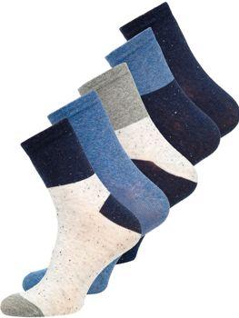 Farebné pánske ponožky Bolf  X10167-5P 5 PACK