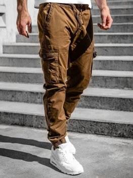Hnedé pánske kapsáčové joggery Bolf CT6706S0