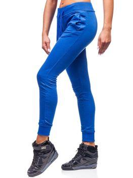 Kraľovský modré dámske tepláky BOLF WB11003