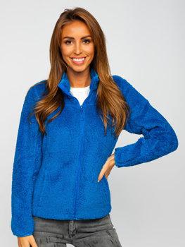 Modrá dámska flísová bunda Bolf HH006