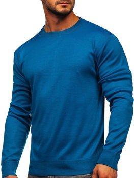 Modrý pánsky sveter Bolf GFC01