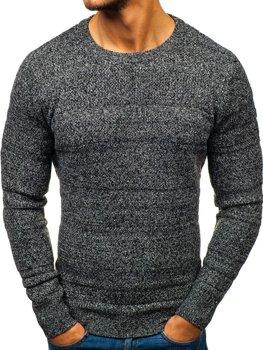 Šedý pánsky sveter BOLF H1805