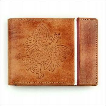 Svetlohnedá pánska kožená peňaženka 682