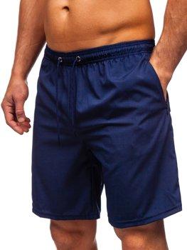Tmavomodré pánske kúpacie šortky Bolf YW02067