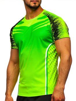 Zelené pánske tréningové tričko Bolf KS2059