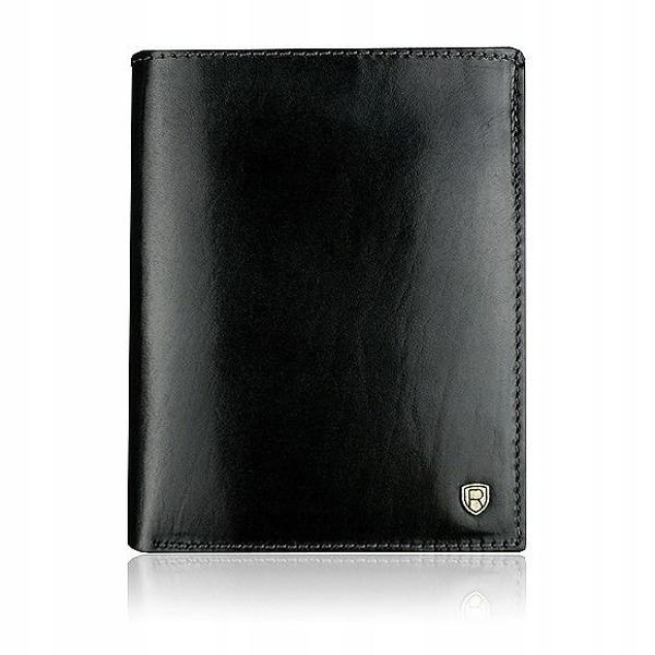 Čierna pánska kožená peňaženka 910