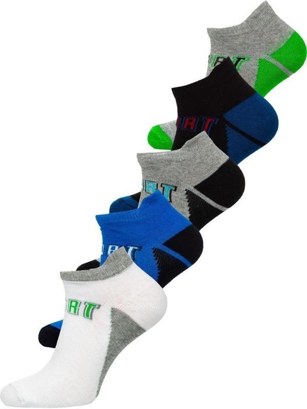 Farebné pánske ponožky BOLF X10033-5P 5 KS