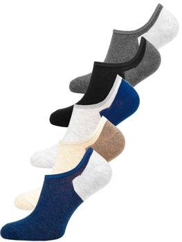 Farebné pánske ponožky Bolf  X10170-5P 5 PACK