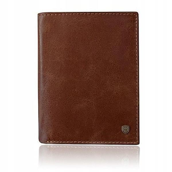 Hnedá pánska kožená peňaženka 920