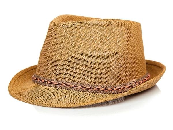 Hnedý pánsky klobúk BOLF KAP214-1