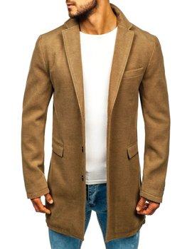 Kamelový pánsky zimný kabát Bolf 1047A