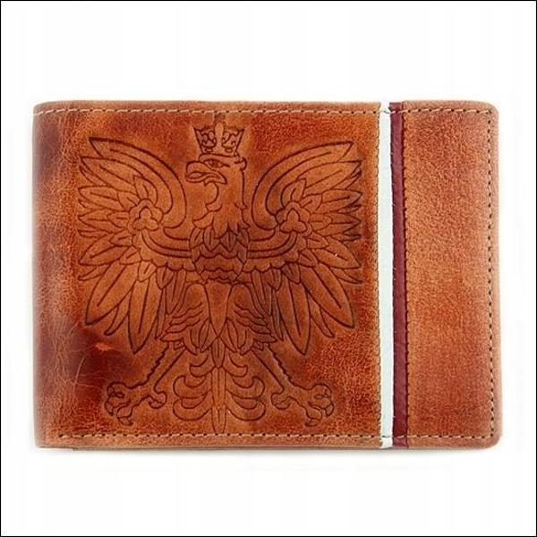 Svetlohnedá pánska kožená peňaženka 676
