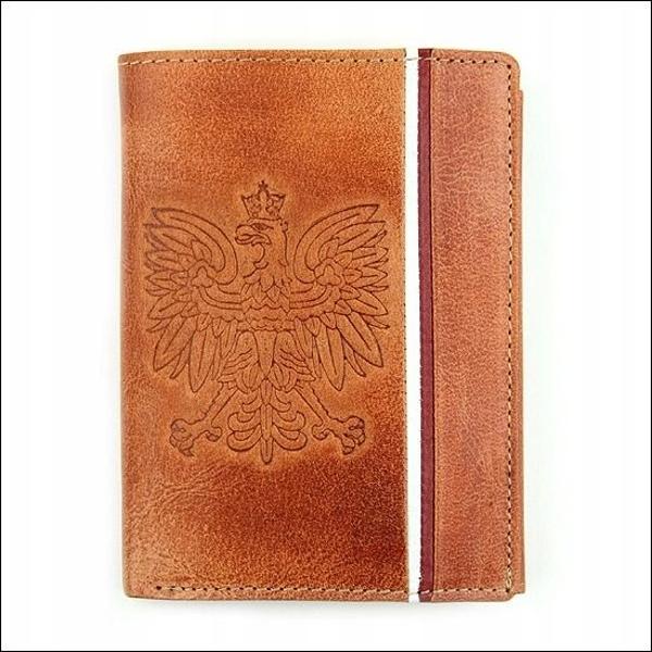 Svetlohnedá pánska kožená peňaženka 679