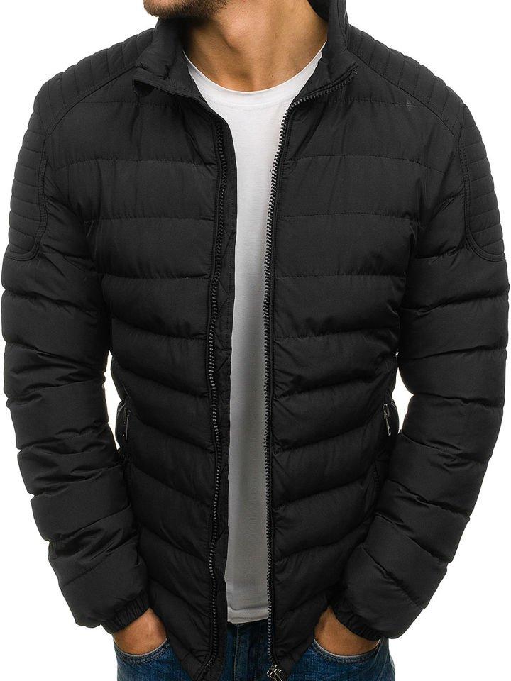Čierna pánska športová zimná bunda BOLF JS518 ec2d839f053