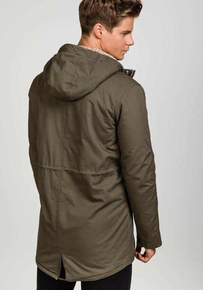 Khaki pánska zimná bunda Bolf 1682 afe475036bb