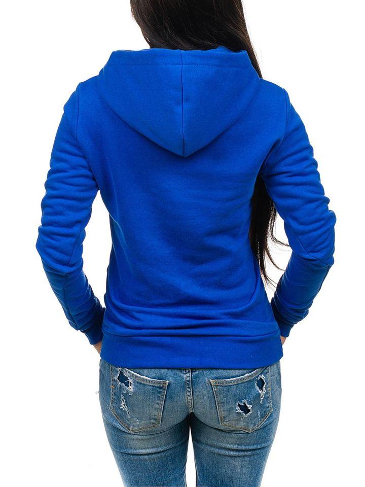 Kráľovsky modrá dámska mikina BOLF 15S 06aaed5030f