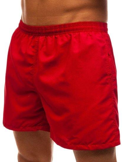 Bordové pánske kúpacie šortky BOLF Y769