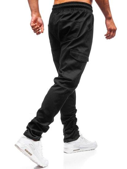 Čierne pánske kapsáče BOLF 0857