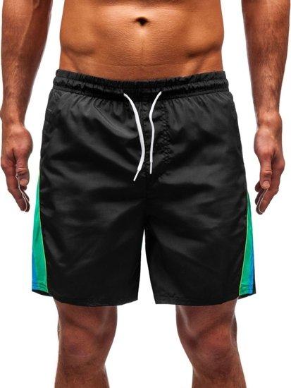 Čierne pánske kúpacie šortky BOLF 315