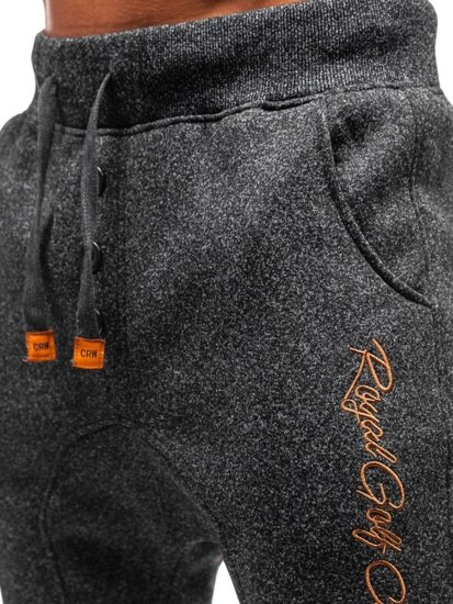 Čierne pánske teplákové baggy BOLF Q3507