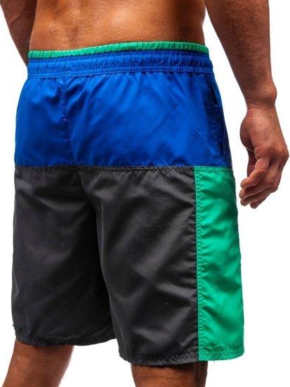 Farebné pánske kúpacie šortky BOLF 339A