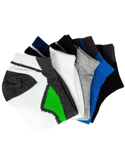 Farebné pánske ponožky BOLF X10049-5P 5 KS