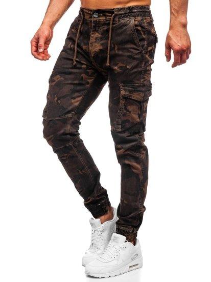 Hnedé pánske kapsáčové joggery Bolf CT6017