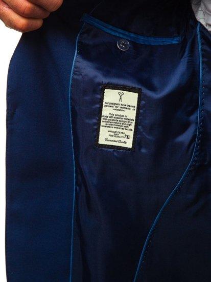 Indigo pánsky oblek BOLF 19100