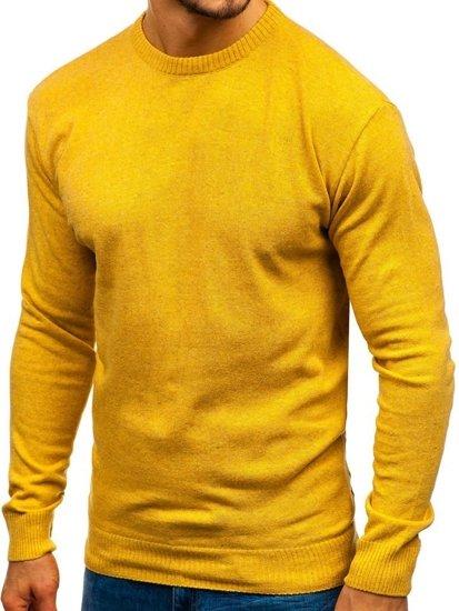 Kamelový pánsky sveter BOLF 6001