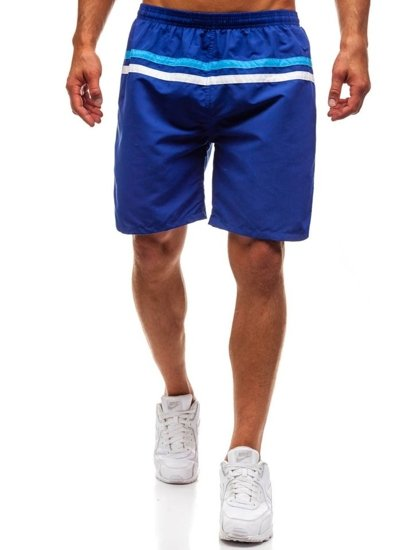 Modré pánske kúpacie šortky BOLF Y765