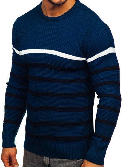 Modrý pánsky sveter Bolf 1951