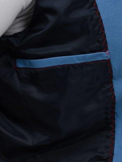 Pánske sako Bolf 606-K blankytno-hnedé