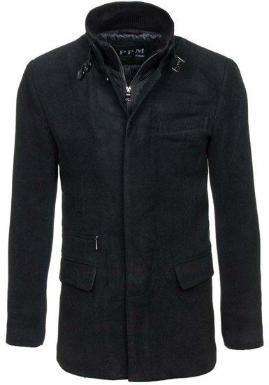 Pánsky kabát Bolf 8777 čierny