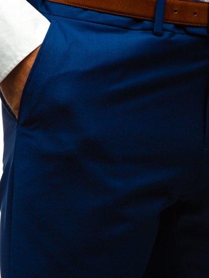 Tmavmodrý pánsky oblek BOLF 19100