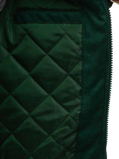 Zelená pánska športová zimná bunda BOLF k18
